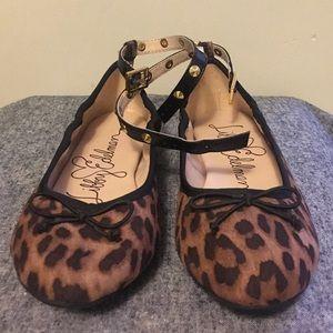 Libby Edelman Leopard Print Ballet Flats!